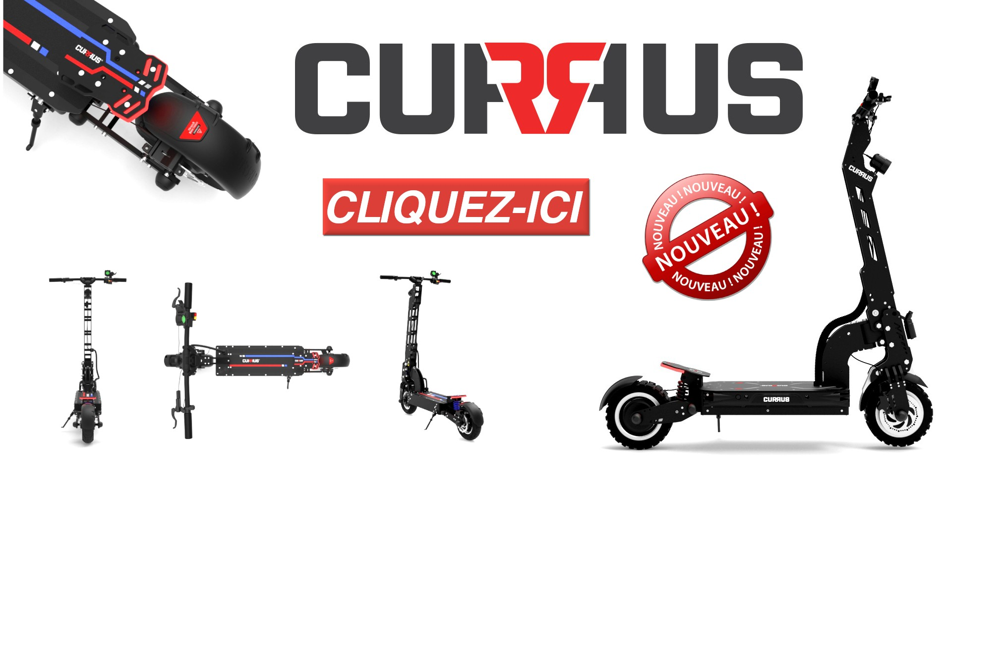 CURRUS NF10 BLACK LABEL & CURRUS NF11 PANTHER